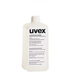 (9972-100) UVEX CLEANING SOLUTION 0.5L+(9973-100) PLASTIC PUMP