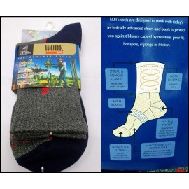 COTTON SPANDEX FULL T.ANTIBACTERIA SOCKS